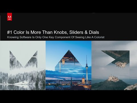 Learning to See Like a Colorist: The Why of Video Color Correction | Adobe Creative Cloud