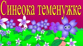 Синеока теменужка + 7 песнички - Български детски песни