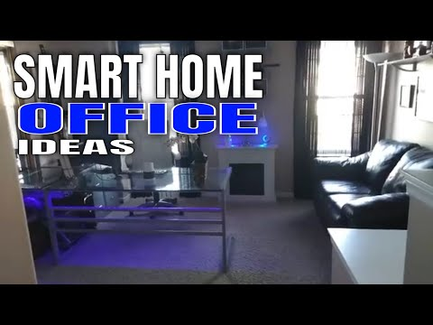 Smart Home Tech : The Ultimate Smart Home Office Tour