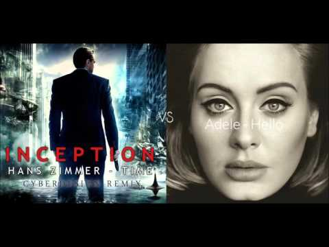Hans Zimmer - Time (Cyberdesign Remix) Vs Adele - Hello