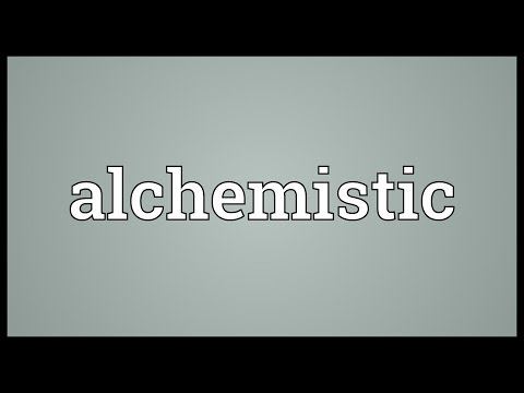 Header of alchemistic