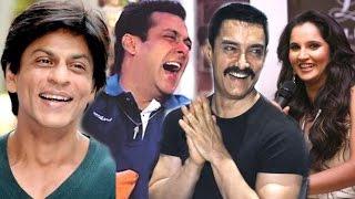 Sania Mirza's Funny Joke On Salman, Shahrukh & Aamir Khan