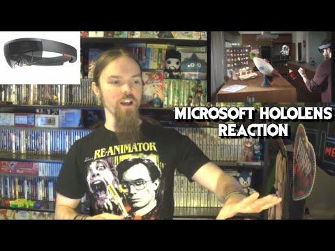 Microsoft Hololens Reaction