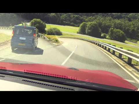 Infiniti Q50 Eau Rouge: Hot laps at Millbrook Hill Route