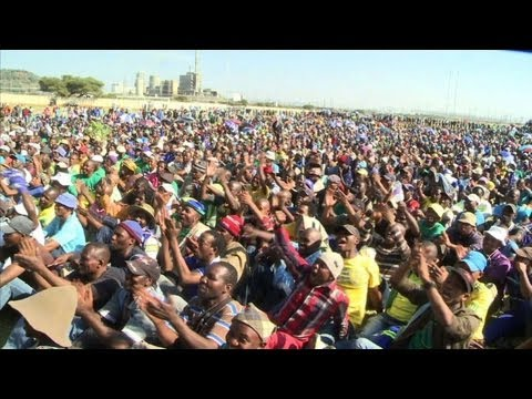 Afrique du Sud: reprise du travail en vue  la mine de Marikana
