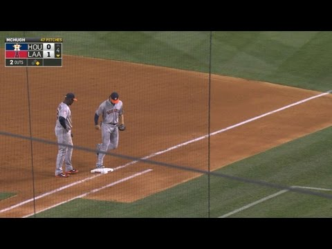 Marisnick turns two as Pujols forgets outs
