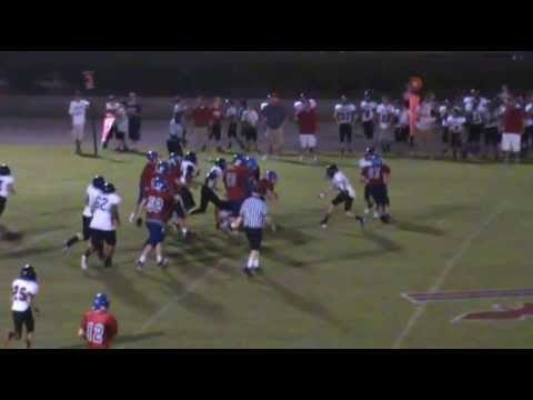 "Houston ""Hootie"" Crouch #17 Football Highlights Harpeth Middle School"