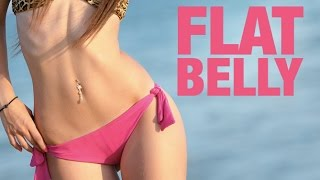 4 Best Exercises for a Flat Stomach (FLATTEN THE LOWER BELLY!!)