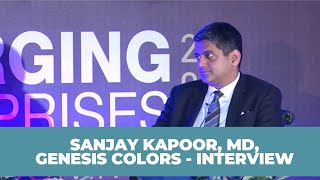 Sanjay Kapoor  MD  Genesis Colors -