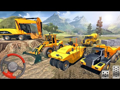 Road Builder 2020: Offroad Construction Game! Android gameplay