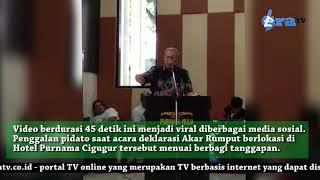 Viral, Bupati Kuningan Sebut Kepala Desa Laknat Bila tak Dukung Jokowi