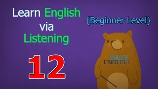 Learn English via Listening Beginner Level | Lesson 12 | Cleaning Up Leaves
