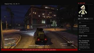 Playing grand theft Auto 5 making money for the casino road to 2k