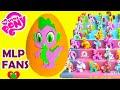 My Little Pony Spike Play Doh Surprise Egg Cutie Mark Magic Pinkie Pie