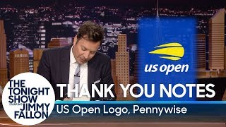 Thank You Notes: US Open, Pennywise