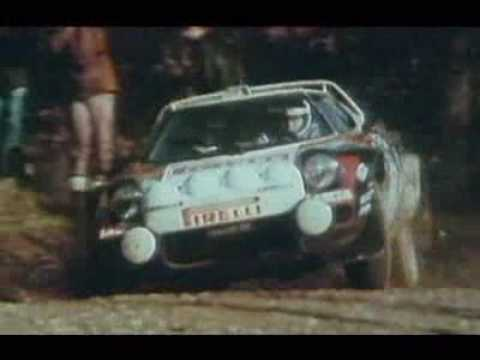 Lancia Stratos - The best Rally car with rear drive