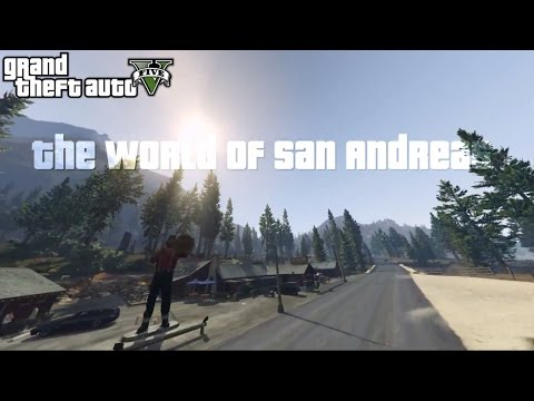 GTA 5 Machinima | The World of San Andreas