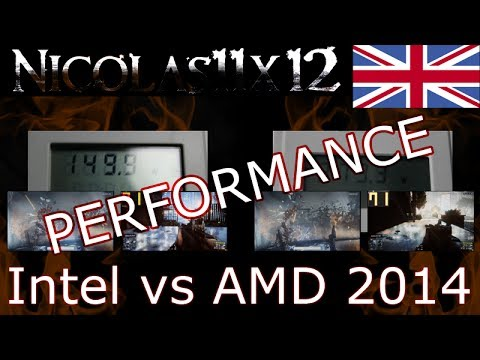 Intel vs AMD 2014 |PERFORMANCE|
