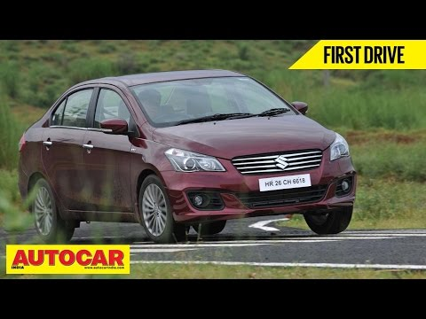 2014 Maruti Suzuki Ciaz | First Drive Video Review | Autocar India
