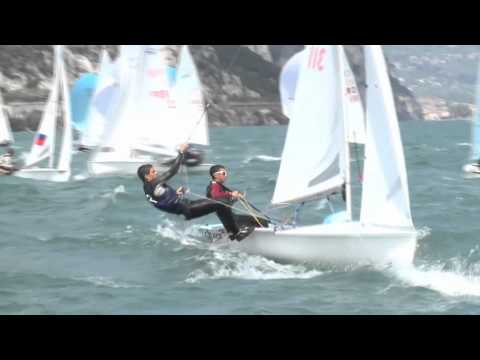470 - 420 Junior Europeans, 2012  -inGarda, FragliaVelaRiva#1