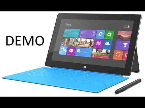 Demo Surface Pro, el tablet más completo de Microsoft