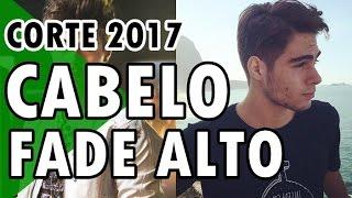🔵 CABELO RAFAEL VITTI | FADE ALTO | CORTE MASCULINO 2017
