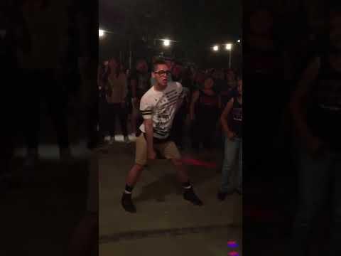 Guy Dances the Cha-Cha Slide in Style | Cha Cha King(short)