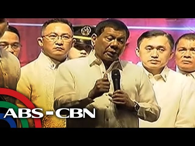 Duterte confronts militants at SONA rally