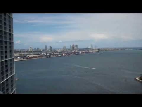 Views of Brickell Real Estate, Brickell Key Real Estate from Met