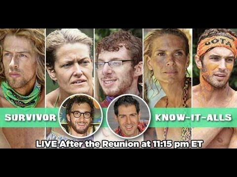 Survivor Caramoan Post Finale & Reunion Recap | Survivor Know-It-Alls from Rob Has a Podcast