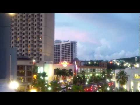 GUAM, Tumon, Tourist District 2012