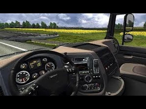 Euro Truck Simulator 2 (2014) Gameplay PC HD (Comentariu In Romana) [GamePad]