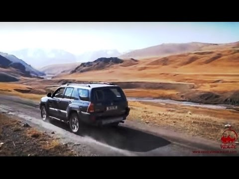 На внедорожнике по Кыргызстану. Джип-туры по горам Памира и Тянь-Шаня.