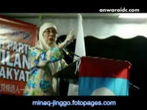 Video Seks : Azizah Sahkan Leher Anwar!