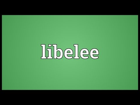 Header of libelee