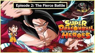 Dragon Ball Heroes Episode 2: The Fierce Battle