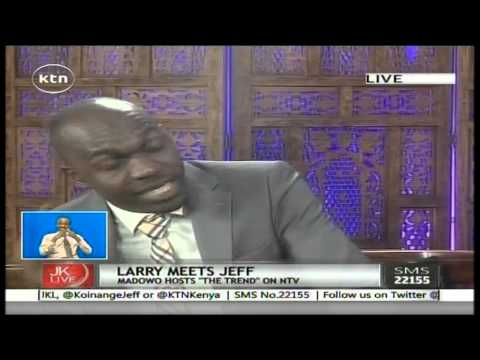Jeff Koinange Live with Larry Madowo Thursday 16th April 2015 Part 1