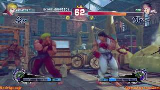 Super Street Fighter IV Arcade Mode (Ken Pt. 2/3)