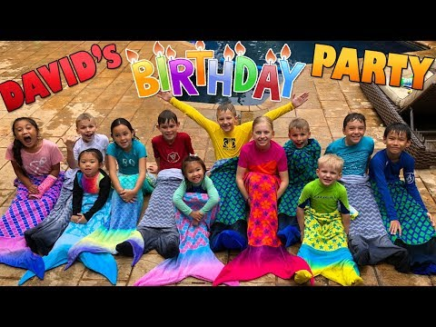 David's 10th Birthday Party!!!
