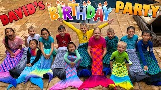 David's 10th Birthday Party!!!