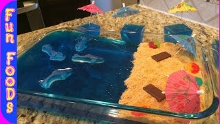 Shark Filled Jello (Shark Week)
