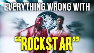 "Download Lagu Everything Wrong With Post Malone - ""rockstar"" Gratis STAFABAND"