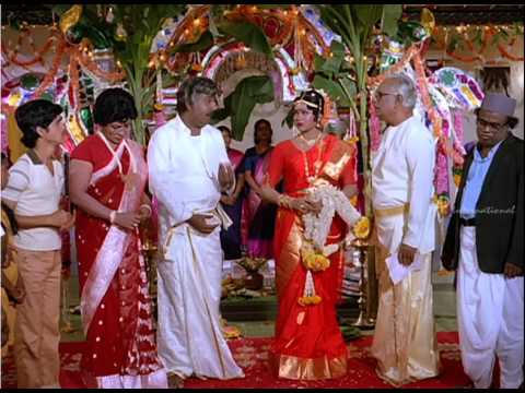 Nalla Thambi | Tamil Movie Comedy | Karthik | Radha | Manorama | Moulee video