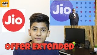 Jio Welcome Offer Extended Till March 2017, JIO Happy New Year [BUT SOME CHANGES]