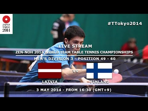 #TTokyo2014: Latvia - Finland