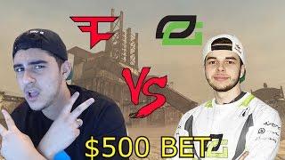 FaZe Rain vs OpTic NaDeSHoT - $500 BET