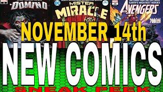 WEEKLY PICKS FOR NEW COMIC BOOKS RELEASING NOVEMBER 14th 2018. MARVEL COMICS DC COMICS Sneak peek