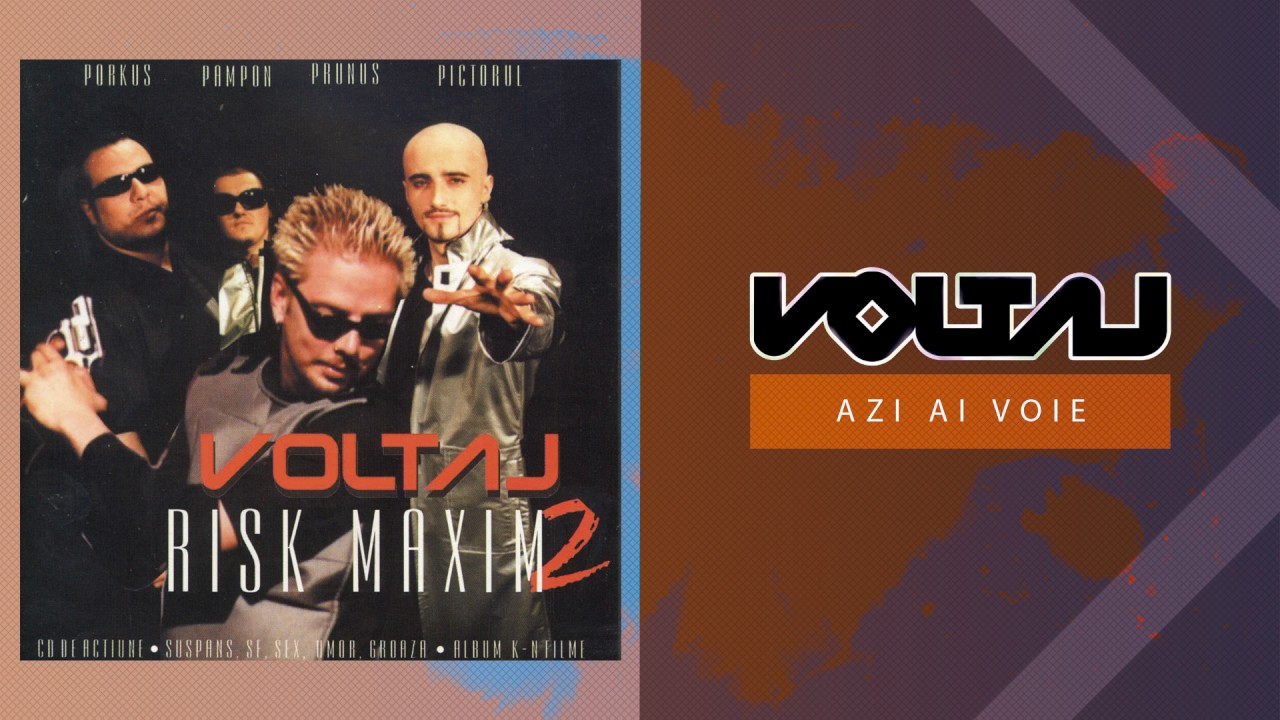 Voltaj - Azi ai voie (Official Audio)