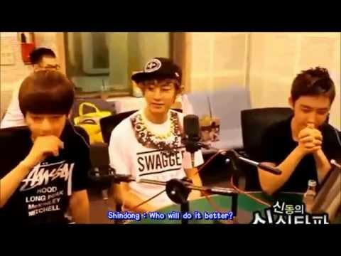120621 엑소케이 EXO-K @ShimShimTaPa 심심타파 Funny Baekhyun & D.O