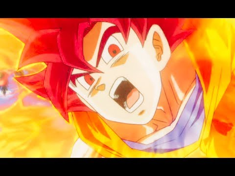 DBZUT: Super Saiyan God Goku vs Omega Shenron